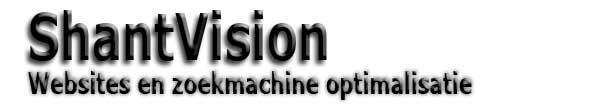 ShantVision zoekmachine optimalisatie en web building